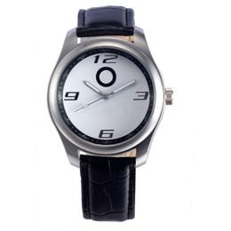 Wholesale Car Tags - Popular Car Ben Logo men's boy leather strap quartz wrist watch 505