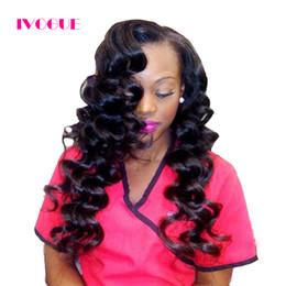 Wholesale Side U Part Wig - Bouncy Curly Human Hair U Part Wigs Virgin Brazilian Left Side U Part Human Hair Wig For Black Women Curly Upart Wig