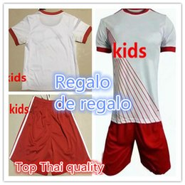 Wholesale Usa Soccer Shorts - 17 18 America New York 17 18 BullS Kids Jerseys child teens Shirt Thierry Henry MCCARTY WRIGHT-PHILLIPS SAM USA Occupation League Red