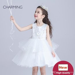 Wholesale Wedding Gowns Online China - Flower girl dresses online wholesale buy in china party dresses girls high quality girls party dress and wedding flower girl dresses