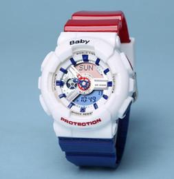 Wholesale digital watch girl women - Men women watch baby watch all functions Work water resistant girl g 110 LED watch sport watches boy