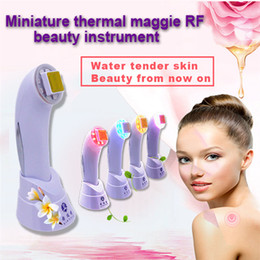 Wholesale Skin Lifting Thermage - RF Skin Rejuvenation SkinTighten Wrinkle Removal Anti-aging Dot Matrix Skin Care RF Thermage Fractional RF Thermager Portable Beauty Device