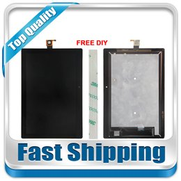 Wholesale Screen Replacement Tab - Wholesale- For New Lenovo Tab 2 A10-30 YT3-X30 X30F TB2-X30F X30 A6500 Replacement LCD Display Touch Screen Assembly Black White