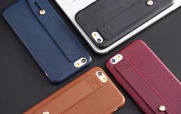 Canada 50 pcs en gros pour iPhone 7 7plus Kickstand Téléphone Cas De Luxe En Cuir PU Peau Slim Doux Housse Pour iphone5s 6 6plus Offre