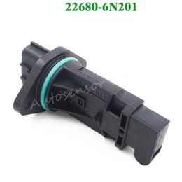Sensori subaru online-Sensore di massa misuratore di portata d'aria di alta qualità per Nissan Subaru Infiniti G20 i30 22680-6N201 22680-6N200 22680-AD201 22680-AD200 22680-AA290