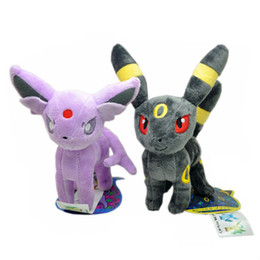 "Wholesale Soft Stuffed Plush Toys - Hot New 2 Styles 7""-8"" 18CM-20CM Ditto Metamon Poke Doll Espeon Umbreon Dolls Gifts Plush Kid's Stuffed Soft Toys"