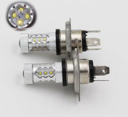 Wholesale e46 lights - 2PCS Car led H4 light 80w H4-3 Headlight For Toyota bmw e39 e46 ford focus 2 volkswagen kia rio golf 4 mazda 3 chevrolet