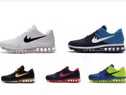 Wholesale Max Style Shoes - Max 2017 sports shoes New Style KPU Cushion Running Shoes For Men maxes sneaker Cushion Surface Breathable Max child Shoes wholesale