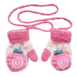 Wholesale Infant Cotton Finger Gloves - Women Glove Winter Amazing Cute Cartoon Thicken Warm Fleece Infant Baby Boys Girls Winter Warm Gloves Newborn Mittens for 0-12 Month