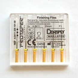 Wholesale Dental Niti - Big Promotion! Dental Dentsply Maillefer Rotary ProTaper Universal Engine NiTi Files F1 25 mm
