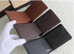 Wholesale Bag Mens Cowhide - 2017 Mens Brand Leather Wallet, Men's Genuine Leather With Wallets For Men Purse Fahion BAG Wallet Men Wallet Cowhide with box free shipping