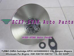 Wholesale Turbochargers Renault - Turbo CHRA cartridge KP35 54359700011 54359880011 54359880033 54359700033 Turbocharge For Renault Kangoo 2 Twingo 2 Dacia Logan K9K 1.5L DCI