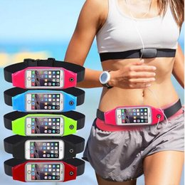 Wholesale Handbag Silicone Case - Waterproof Phone Case for Iphone 7 7P 7plus Outdoor Running Sport Water Resistant Waist Bag for Samsung Xiaomi 4.4&5.5 Inch