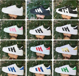 Wholesale Casual Female Fashion - 2017 Hot sale Fashion mens smith stan Casual shoes Superstar Female Flat Shoes Women Zapatillas Deportivas Mujer Lovers Sapatos Femininos