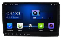 Wholesale Navi Radio Passat - 4-Core Android 6.0 9inch Car Dvd Gps Navi Audio for Volkswagen VW for skoda Passat Sagitar cc Transporter T5 Sharan Touran