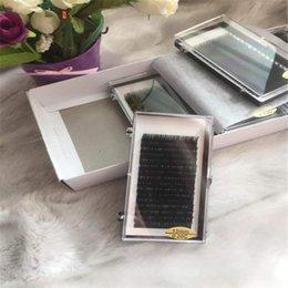 Wholesale Top Individual Lashes - Top quality Individual lash false eyelashes 100% Korean silk hand made