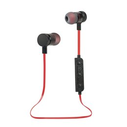 Wholesale Housings Cell - Wireless Stereo Bluetooth Headphone Sports Sweat-Proof Noise-Canceling Earbuds with Metallic Housing & Built-in Mic M90 Magnetic Headset