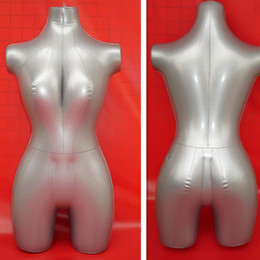 Wholesale lingerie for free - Free Shipping !!New Arrival Inflatable Mannequin Torso Inflatable Manikin Body For inflatable full upbody for Display Lingerie