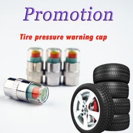 Wholesale Opel Color - 4Pcs set Car Auto Tire Pressure Monitor Diagnostic Tools Kit Valve Stem Caps Sensor 3 color Indicator Eye Alert