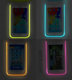 Wholesale Reflective Bag Cover - 6 Colors Reflective Waterproof Bag Water Proof Bag Sports Pouch Case Cover Universal Water Proof Case Cell Phone For iphone Samsung