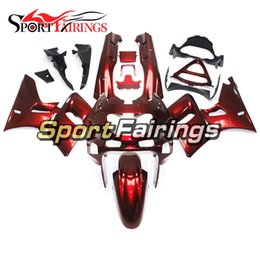 Wholesale kawasaki zzr red - Injection Fairings For Kawasaki ZZR600 ZZR-400 1993 - 2007 ABS Plastic Complete Motorcycle Fairing Kits Cowling Red Pearl