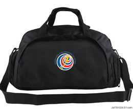 Wholesale Football Nation - Costa Rica duffel bag Nation team tote Emblem trip backpack Football luggage Sport shoulder duffle Outdoor sling pack