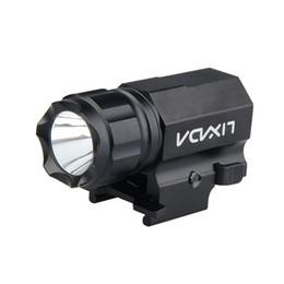 Wholesale Portable Guns - Securitylng 600 Lumens XP-G R5 LED Tactical Gun Flashlight Torch 2 Modes LED Flash Light Lanterna LED Flash Light