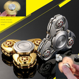Wholesale Toys Ship Russia - Fidget Spinner Russia CKF High Copy Hand Spinner Toy Aluminum fingertips spiral fingers relief toys HandSpinner Free Shipping