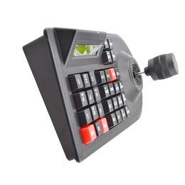 Controlador de domo online-Max 64 set CCTV Cámara de red analógica DVR PTZ Manija 3D Palanca de mando RS485 Velocidad Controlador de la cámara domo Teclado