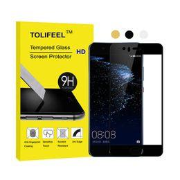 Wholesale Glass Nova - For Huawei P10 Plus Tempered Glass Film Screen Protector For P10 Nova Lite Protective Film Full Cover 2.5D