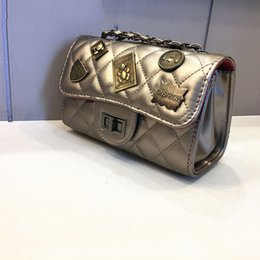 Wholesale Pattern Lock - Women Famous brand designer Luxury leather handbags women messenger bag Ladies crocodile pattern Shoulder bag Crossbody