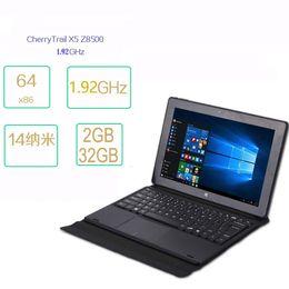 Новый дешевле цена Android win10 tablet pc 10.1 четырехъядерный супер ноутбук и планшетный ПК 2in1 с клавиатурой от