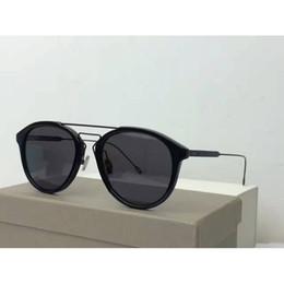 Wholesale Glasses Sun Retro Style - 2017 New Titanium Sunglasses Retro Brand Sunglasses Punk Fashion Sunglasses Men Brand Designer Summer Style Sun Glasses With Box