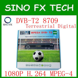 Wholesale Digital Mpeg4 Tv Receiver Usb - free ship Wholesale 2017 Cheaper MPEG4 H2.64 MSD7T01 DVB T2 HD Digital TV Terrestrial receiver