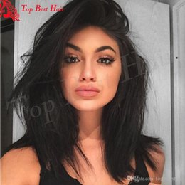 Wholesale Hair Color Beyonce - Affordable Full Lace Wigs Virgin Peruvian Hair Baby Hairline Lace Front Wig Glueless Human Hair Peruvian Beyonce Lace Front Wigs For Women