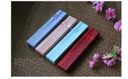 Collar de calidad Caja de regalo Joyas de papel Cajas de embalaje para pulseras Rojo Azul turquesa Pulsera Caja 24PCS / lot Venta al por mayor BX-06 desde fabricantes
