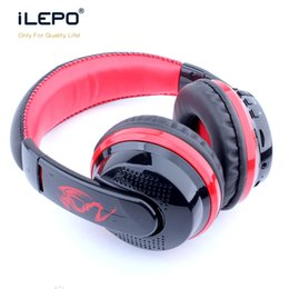 Wholesale Headband Headphone Brands - Bluetooth Headphone Headset Wireless Stereo Earphone Best Quality Bluetooth Version 4.1 Mini Wired Headset Brand Mp3 Music Sport Earphones