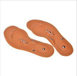 magnetic therapy pads 2018 - Magnetic Therapy Magnet Health Care Foot Massage Insoles Men  Women Comfort Pads Foot Care Massager Men  Women YYA108
