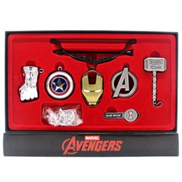 Wholesale Avengers Iron Man - Avengers Weapons Collection Thor Iron Man Superman Black Widow Captain America Hulk Action Figures Avengers Weapons Collection Toys