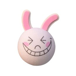 Wholesale Rabbit Topper - GPS Cute Smiling Rabbit Auto Car Vehicle Decoration Aerial Ball Antenna Topper