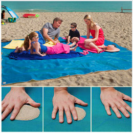 Wholesale Pvc Car Mats - Hot 200X150cm Sand Free Mat Camping Mat Outdoor Foldable Picnic Mattress Beach Mat PVC Beach Cushion Outdoor Sports Accessaries