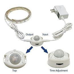 Wholesale Led Lights 2v - Night Lights Led Sensor Lights 35 leds Dustproof&Waterproof lights 2V 0.5A 2 Sizes led lamp