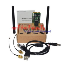 Wholesale Ems Repeater - by dhl or ems 10pcs VONETS VM300 802.11b g n Wi-Fi Module Board for DIY Wi-Fi Repeater Router usb wifi module