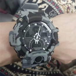 Wholesale Top Cheap Electronics - AAA Brand 2017 Cheap Price Good Quality Watches Male Top Luxury Sport Watches Drop Shipping Full Function Run Climbing Diving 30M Electronic