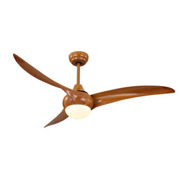 Wholesale Led Dc Bulbs For Sale - 3 blade ceiling fan with light and Remoe control AC DC 48 52 inch for Bedroom, Living Room on sale