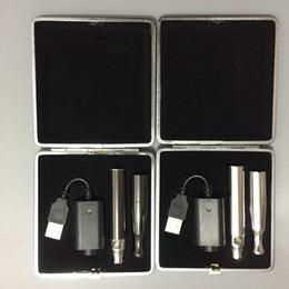 Wholesale Metal Leather Cigarette Case - E cigarette puffco Skillet V2 vape pen wax vaporizer starter kit with dual ceramic coil dual quartz coil W6 vaporizer Kit leather case