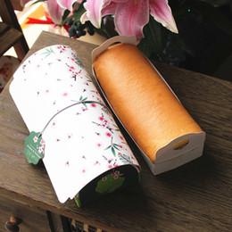 2019 rifornimenti della scatola dell'imballaggio della torta Scatola per torta a vento portatile in stile giapponese Scatole di imballaggio verde rosa Scatola da torta di libbra Sacchetto di imballaggio da forno Forniture di Bakeware ZA3245 rifornimenti della scatola dell'imballaggio della torta economici
