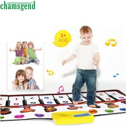 Wholesale Best Sing - Wholesale- CHAMSGEND Modern Baby Play Mat New Touch Play Keyboard Musical Music Singing Gym Carpet Mat Best Kids Baby Gift Jan17