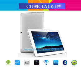 Wholesale 16gb Dual Core Tablet - Wholesale- New Arrival 10.6 Inch IPS Cube Talk11 3G Phone Call Tablet PC Android 5.1 MTK8321 Quad Core GSM+WCDMA 1GB 16GB 5.0MP Camera