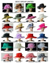 Wholesale Church Hats For Ladies Wholesale - FREE SHIPPING BY EMS.Exclusive desgin Ladies Dress church organza bridal hat for wedding,Kentucky Derby,party